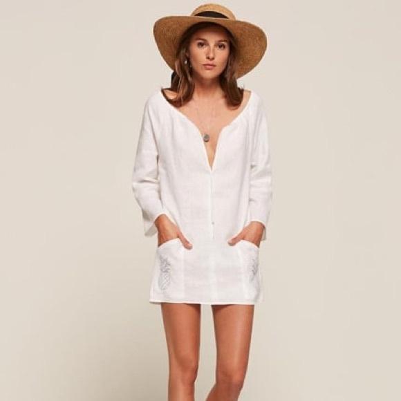 a3b2047711 Reformation Dresses | Summer Linen White Dress | Poshmark